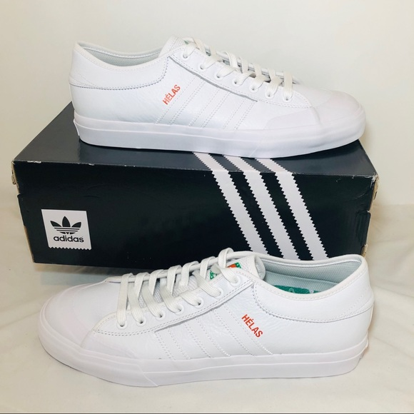 2a74d718 Adidas Matchcourt x Helas All White Sneakers NWT